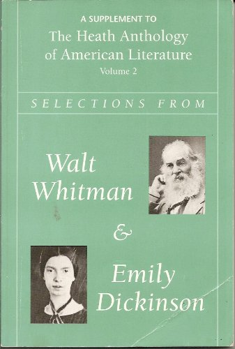 Whitman and Dickinson: Heath Anthology of American Literature