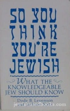 So You Think You're Jewish